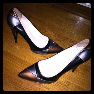Prada heels multi color * DAMAGED *